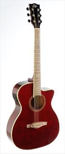 EKO NXT 018CW EQ Guitarra Electroacústica de vino rojo