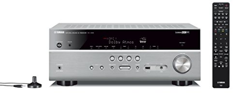 Yamaha AV-Receiver RX-V685 MC titan – Netzwerk-Receiver mit außergewöhnlichem 7.2 Music Cast Surround-Sound - das Allround-Talent im Heimkino-System – Alexa Sprachsteuerung