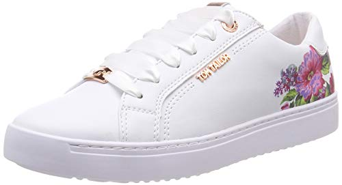 TOM TAILOR Damen 6993203 Sneaker, Weiß (White 00002), 40 EU
