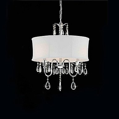 Elegante 3-Light pendente di cristallo Accent ,
