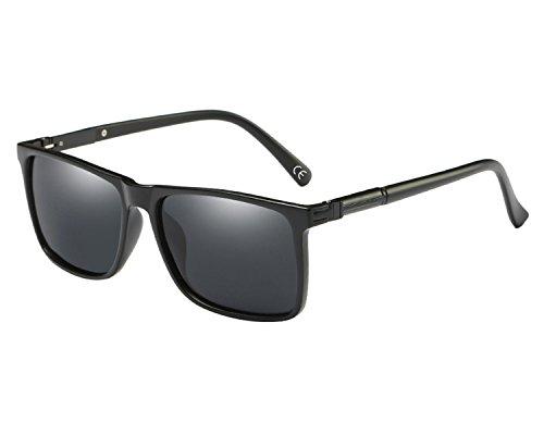 BVAGSS Retro Gafas Polarizadas De Sol Para Hombre