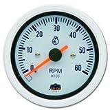 Drehzahlmesser für Benzinmotoren 0 - 6000 RPM in weiß