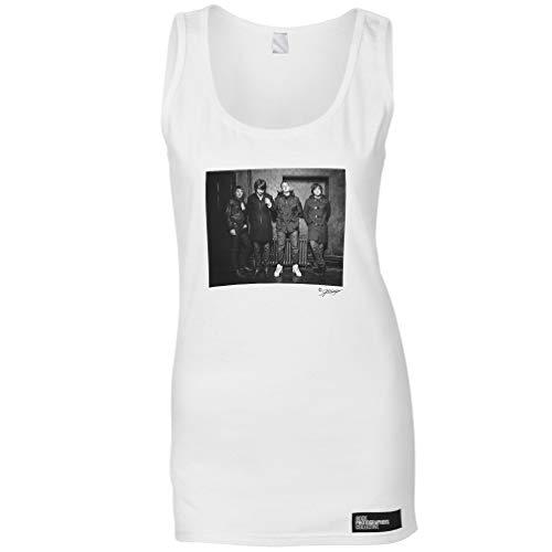 Arctic Monkeys, London, 2010 (AC) Damen Ärmellose T-Shirt - Weiß/XXL