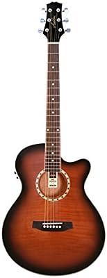 Ashton Sl29ceq - Guitarra acústica Slim Line Electro, color Sunburst