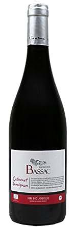 Cabernet Sauvignon, Bio, Domaine Bassac, Côtes de Thongue (Languedoc), 2013 - vin rouge