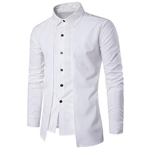 Herren Hemd Slim Fit Langarmshirt Freizeit Langarmhemd Bügelfreies Business  Formale Anzug Party Hochzeit T Shirt Luxus Männer Shirt Langarm Formale  Business ... 59ee818658