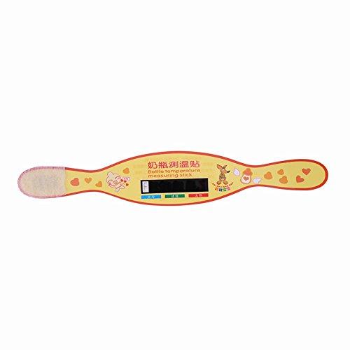 Säuglingsmilchflaschentemperatur-Messaufkleber wiederverwendbares Thermometer -