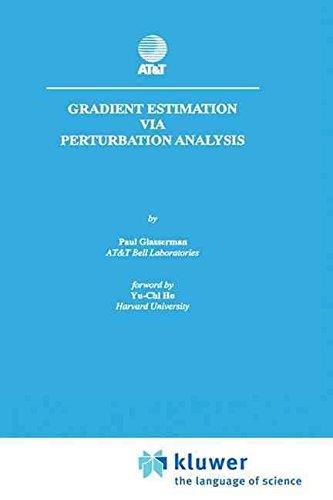 [Gradient Estimation Via Perturbation Analysis] (By: Paul Glasserman) [published: December, 1990]