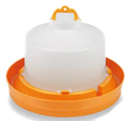 Abreuvoir plastique orange avec bouchon et anse 5L