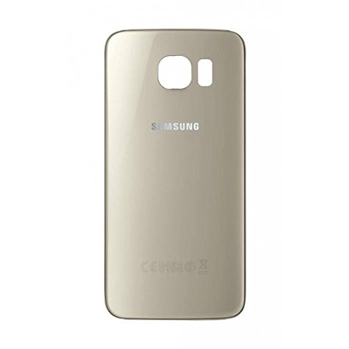Vitre arriere Samsung Galaxy S6 Or