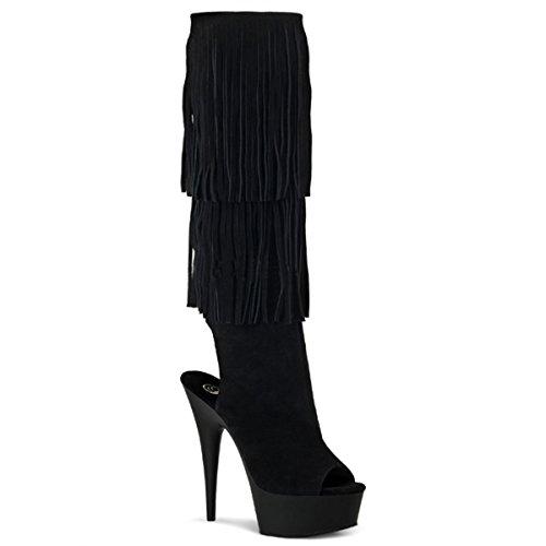Heels-Perfect, Stivali donna Nero (Schwarz (Schwarz))