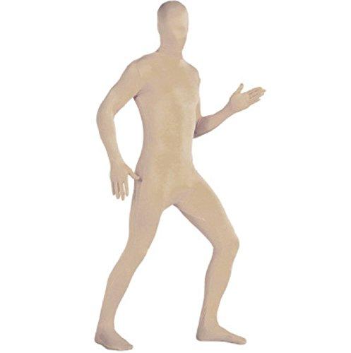 Matissa Männer Frauen Ganzkörper Unisex Spandex-Kostüm Erwachsene zweite Haut Kopf bis Fuß Kostüm (Creme, ()