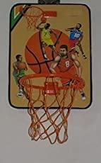Sceva Hanging Board with Basket Ball Kit (Multicolour)