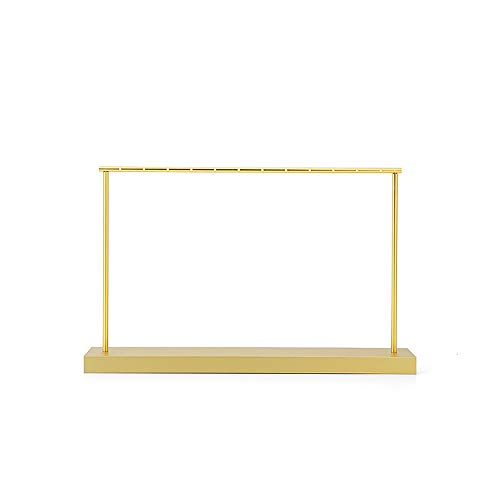 AZUO Ohrring Holder Schmuck Lagerung Tasche Halskette Hanger Wand Mount Gold Classic Display Stand,2,29 * 31.5/18cm