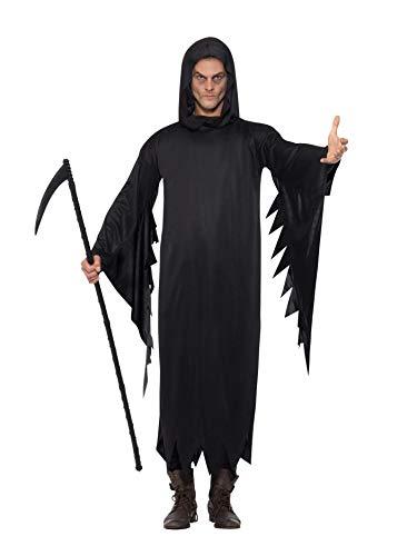 (Smiffys, Herren Screamer Kostüm, Gewand und Kapuze, Größe: M, 20504)