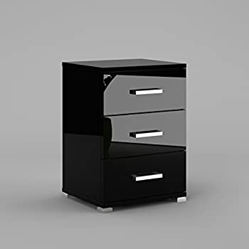 labi m bel neli n3 3x schubladen schrank kommode nachttisch nachtschrank nachtkasten. Black Bedroom Furniture Sets. Home Design Ideas
