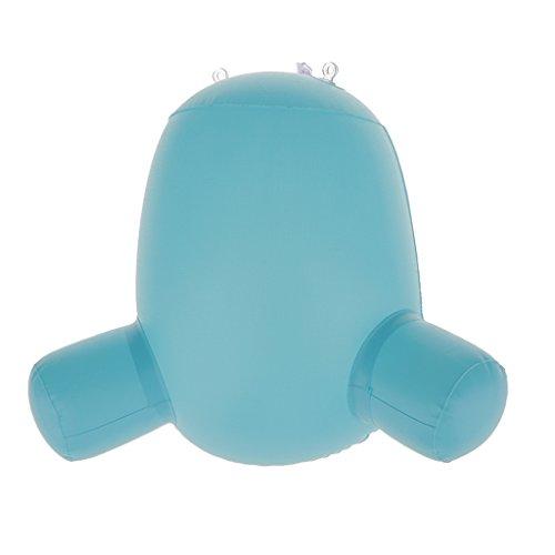 MagiDeal Aufblasbare Kinder Schaufensterfigur Baby Buttock Modell für Babyhosen Windeln Unterhose Display Blau M