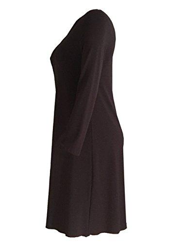 CAROLIN RICK - Robe - Trapèze - Femme Multicolore Multicolore 40-50 Anthracite