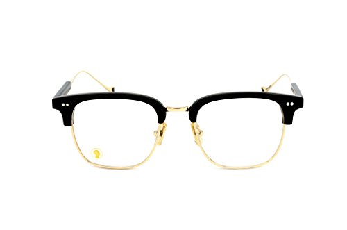 The Monk Sunglass Frames - Ink Black And Modern Gold (Karma 1)