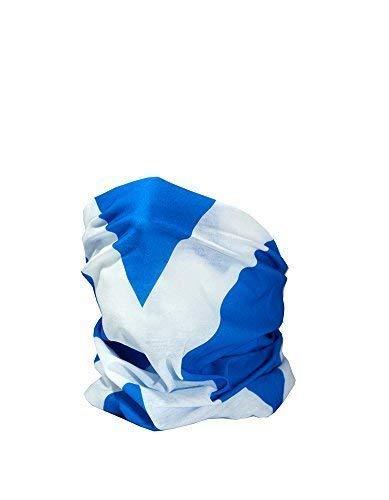 YUHUS Flag of Scotland/Scottish Flag/The Saltire Multifunktionaler Kopfbedeckungs-Nackenwärmer, Motorrad-Sonnenschutz