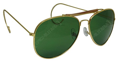 us-vintage-top-gun-pilot-style-aviator-sunglasses-with-mirrored-brown-or-green-lenses-green