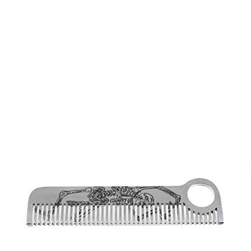 Chicago Comb - Model No. 1 - Skeleton Design - Handgefertigter Kamm aus Metall - Chicago Design