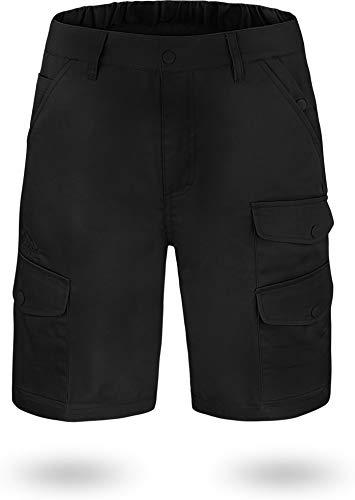 normani US Army Ranger Cargo Bermuda Farbe Black Kebili Größe XXL - Hosen Black Männer