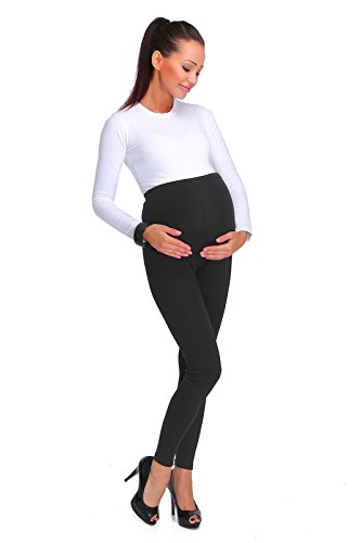 hi!mom® Women's thick fashionable maternity leggings soft fleece lined