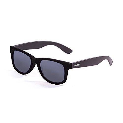 OCEAN SUNGLASSES - beach velvet - lunettes de soleil - Monture : Noir velours - Verres : FumÃBlackrolle (V18202.91)