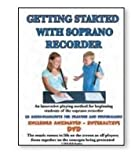 Rhythm Band Get Started With Soprano Recorder With Dvd/Cd