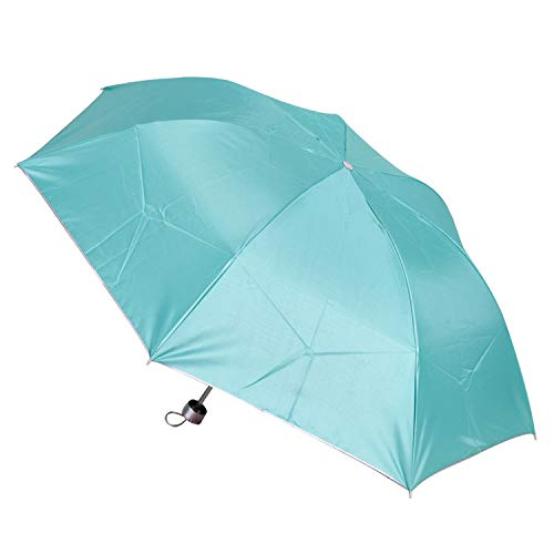 muzhili Kreative Regenschirme Sonnenschirme Custom 30{da15af227b75bc3a1fb994d52152be799bcb8a9ecda309aba64304e36b5c2a40} Rückwärtsstange Sonnenschirme Sonnenschirme Fabrik Bahnhof, Silber Regenschirm, 7 Umbrella Bones