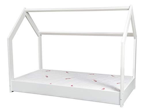 Hausbett Kinderbett mit Matratze PREMIUM