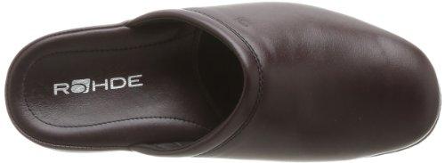 Rohde 6600-90, Chaussons homme Rouge (lie de vin)