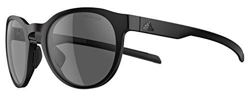 Adidas Brille Sonnenbrille PROSHIFT ad35 Damen Herren Einheitsgröße (black matt - 9200 grey polarized)