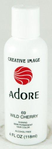 Creative Image Adore Shining Semi-Permanent Hair Color 69 Wild Cherry 118ml