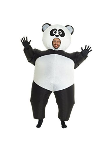Imagen de panda gigante hinchable blow up disfraz disfraz – talla única alternativa