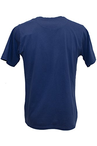 "KITARO Rundhals T-Shirt ""American Life"", S-8XL Colony Blue"