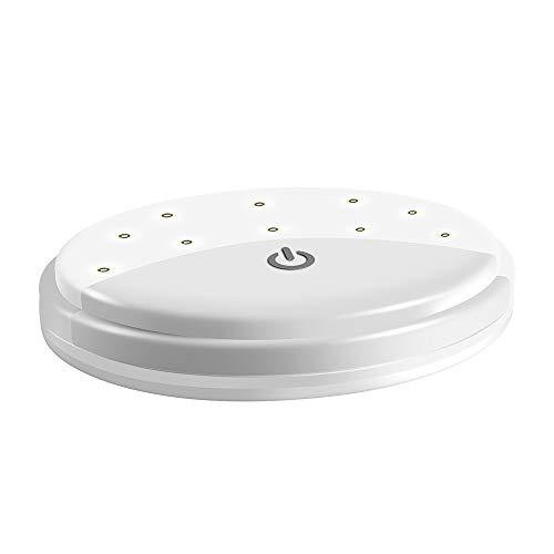 Hokyzam wiederaufladbares Mini Touch Lampe Deckenlampe Licht JL24 LED Nachtlicht Nachtlampe für Autos Tragbare Nachttischlampe -