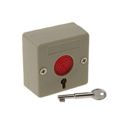 Home Office Not Schalter Button mit Schlüssel