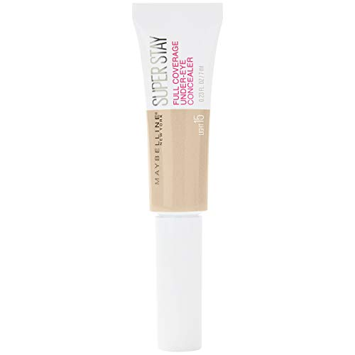 Maybelline New York Super Stay Under-Eye Concealer, 15 Light, 22 G