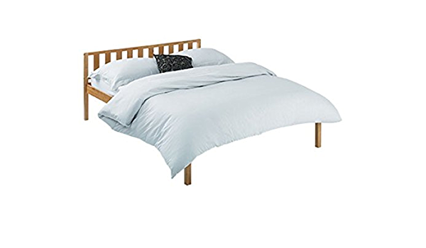 Home Zone Furniture Atlantic Bed Frame Size Double Amazon Co Uk Kitchen Home