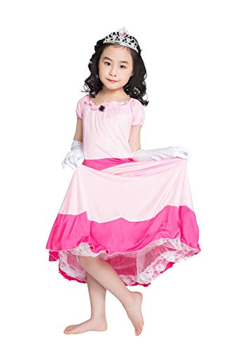 thematys Super Mario Prinzessin Peach Kleid -