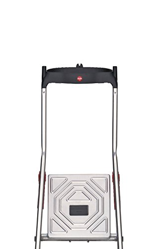 Hailo 8040-401 XXL Step Ladder 4 Deep Safety steps, 150 KG