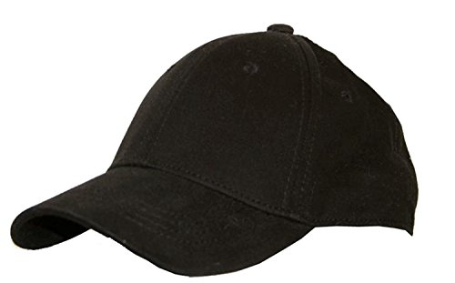 black-cotton-flex-fit-fitted-closed-back-baseball-cap-one-size-small-medium-no-adjustment-needed