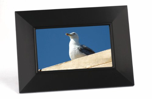 Galleria fotografica ELBE MFB-708 7 Black digital photo frame - Digital Photo Frames (17.8 cm (7), 480 x 234 pixels, TFT, 150 cd/m², JPG, Memory Stick (MS), MMC, SD)