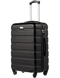 COOLIFE Hartschalen- Rollkoffer Handgepäck Suitcase Luggage 20x24x28 Zoll