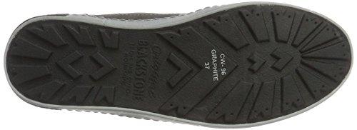 Blackstone Damen Cw96 Hohe Sneaker Grau (Graphite)