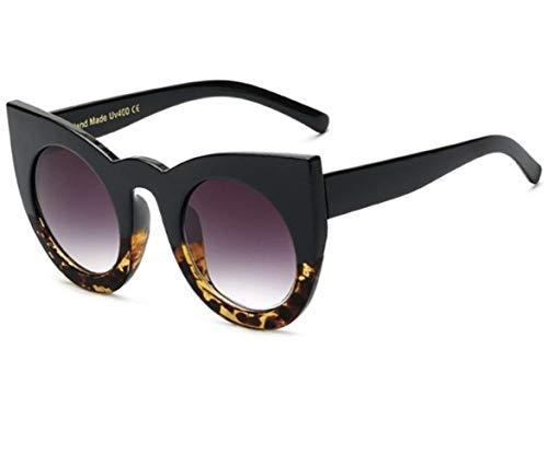 Womens Cat Eye Sonnenbrille Retro Vintage Shades Oversized GlassesWomens übergroße Mode Sonnenbrille Linsenschutz Damen großen Metallrahmen Mode Retro Retro 70er Jahre klassisches Design Töne hochwert