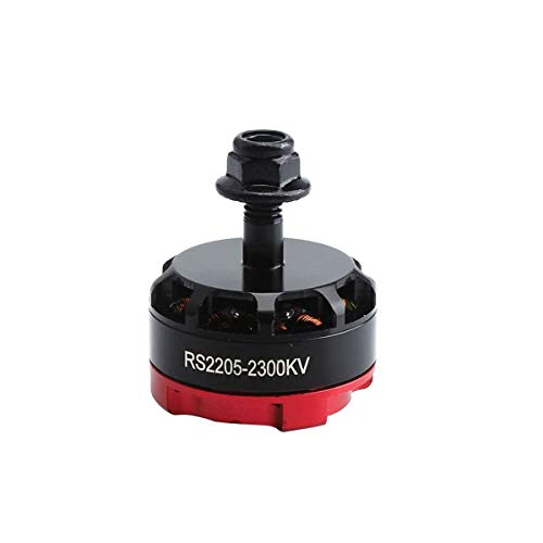 Greatangle 2300KV 2205 CW/CCW Brushless Motor 3-4S f¨¹r FPV RC Racing Drone Multikopter Doppel Lock CW/CCW Gegenmuttern