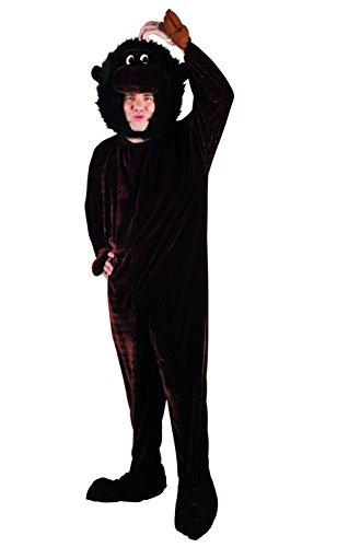 Boland 88101 Erwachsenenkostüm AFFE Maskottchen, XL (Affen Overall Maskottchen Kostüm)